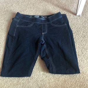 Dark long jeans